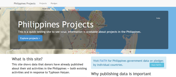 Philippines projects browser